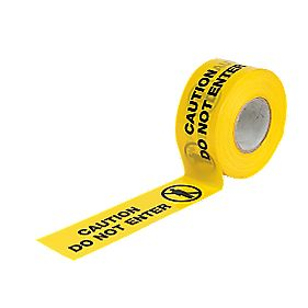 No Nonsense Caution Do Not Enter Tape Black / Yellow mm x m