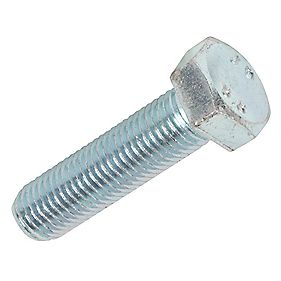 Easyfix BZP High Tensile Steel Hex Bolts M16 x 60mm Pack of 25
