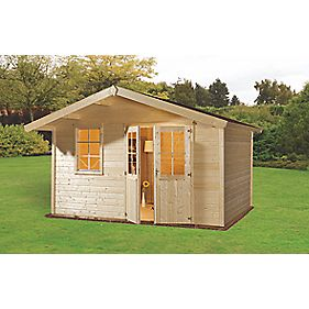 Finnlife Mokki 212 Log Cabin 4.2 x 3 x 2.6m