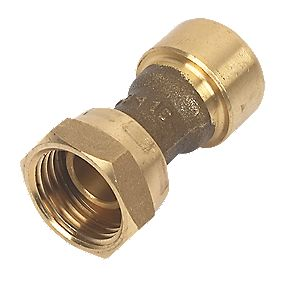 Conex Push-Fit 240G Straight Tap Connector 15X½""