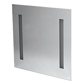 Moretti Bathroom Mirror with Fluorescent Light 800 x 60 x 800mm