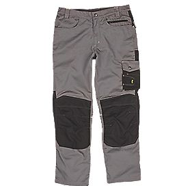 "Site Boxer Trousers Grey/Black 34"" W 32"" L"