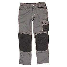 """Site Boxer Trousers Grey/Black 34"""" W 32"""" L"""