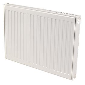 Kudox Premium Type 11 Single Panel Single Convector Radiator White 500x600