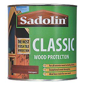 Sadolin Classic Woodstain Matt / Semi Matt Mahogany 1Ltr