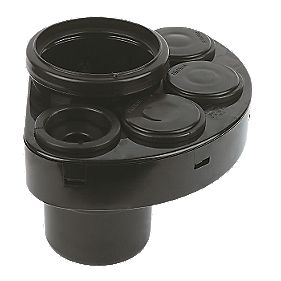 Waste Manifold Black SP588