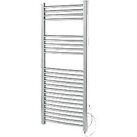 Kudox Flat Ladder Electric Towel Radiator Chrome 500 x 1000mm 250W 853Btu