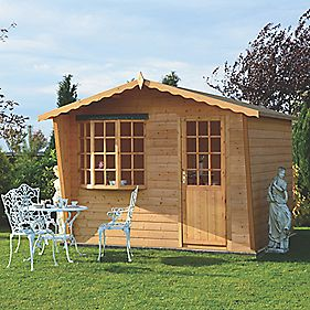 Goodwood Summerhouse 3 x 3 x 2.3m Assembly Included