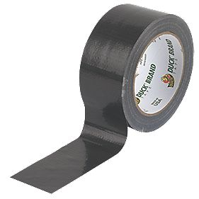 Duck Original Cloth Tape Black 50mm x 25m