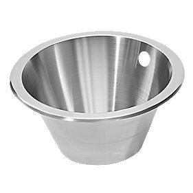 Pyramis Kitchen Sink Royal Stainless Steel 1 Bowl 450mm