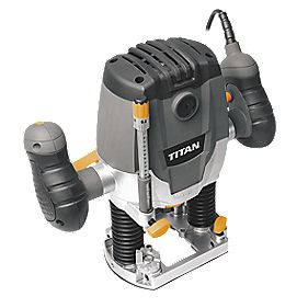 Titan TTB292ROU 1250W Plunge Router 230V