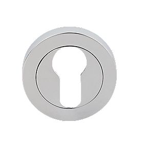 Carlisle Brass Euro Profile Escutcheon Polished Chrome 50mm