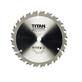 Titan TCT Circular Saw Blade 16T 190x20/25/30mm