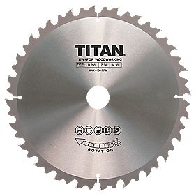 Titan TCT Circular Saw Blade 24T 250 x 16/25/30mm