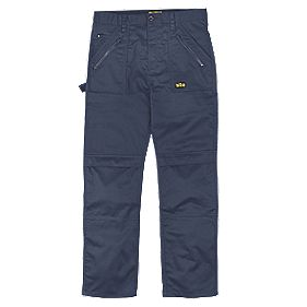 "Site Beagle Trousers Navy 34"" W 32"" L"