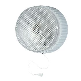 Battery Powered Pull-Cord Wall Light White 3W