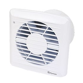 Xpelair 92666AW 34W Axial Kitchen Extractor Fan & Timer
