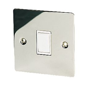Volex 10AX Intermediate Switch Polished Chrome Flt Plt