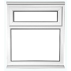 TF uPVC Window Clear 620 x 1200mm