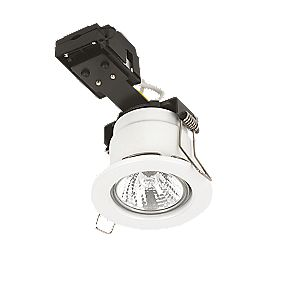 Sylvania Fixed Round Mains Voltage Fire Rated Downlight White 240V