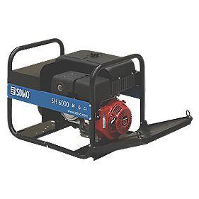 SDMO SH 6000-2 UK 6kW Generator 115/230V