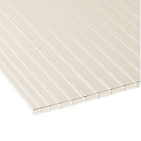 Corotherm Triplewall Polycarbonate Sheet Clear 700 x 3000mm