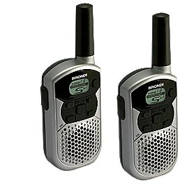 PMR 446 5km Private Radio Twin Pack