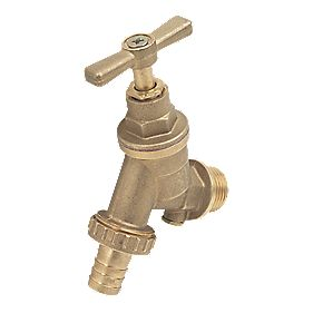 "15mm x ½"" Outside Tap with Hose Union"