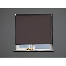 Blackout Blind Brown 180 x 170cm