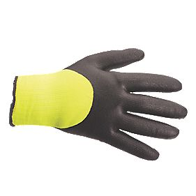 Secure Handling Arctic Winter Gloves Yellow/Black X Large