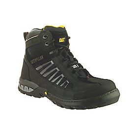 Caterpillar Kaufman Black Safety Boots Size 10