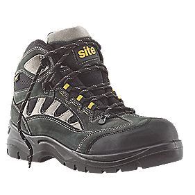 Site Granite Safety Trainer Boots Dark Grey Size 10