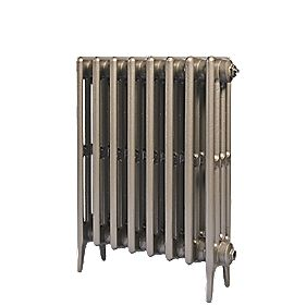 Cast Iron 660 Designer Radiator 4-Column Bronze H: 660 x W: 645mm