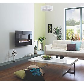 Focal Point Pinoir Wall Hung Flueless Gas Fire 3.5kW
