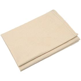 Cotton Twill Poly-Backed Dust Sheet 12 x 12'