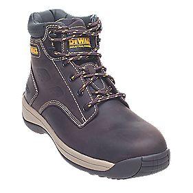 DeWalt Bolster Safety Boots Brown Size 11