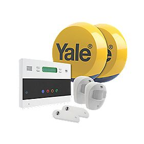 Yale Easy Fit Telecommunicating Wireless 2-Room Alarm Kit