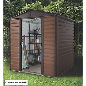"Yardmaster Sliding Door Apex Shed 6'7"" x 6'4"" x 6'6"""