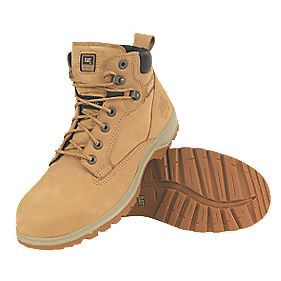 CAT Kitson Ladies Safety Boots Honey Size 8