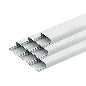 Tower Mini Trunking 38mm x 16mm x 2m (8m) Pack of 4