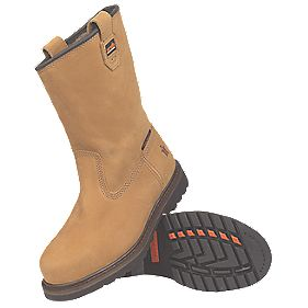 Scruffs Cyclone 2 Rigger Safety Boots Tan Size 10