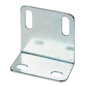 Large Angle Shrinkages Zinc Plated 48 x 25 x 1.6mm Pack of 10
