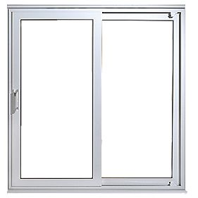 Euramax upvc 7ft patio door non handed 2090 x 2090mm for Upvc french doors 1790 x 2090mm
