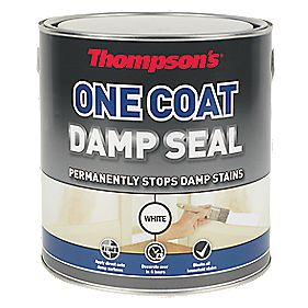 Thompsons One Coat Damp Seal White 2.5Ltr