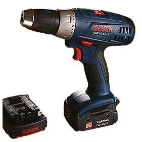Bosch GSR 14.4VLI-3 14.4V 1.3Ah Li-Ion Cordless Drill Driver