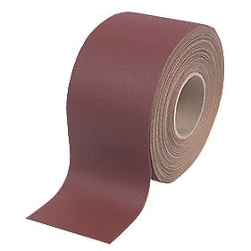 Flexovit Pro E-Weight Aluminium Oxide Abrasive Roll 115mm x 10m 40 Grit