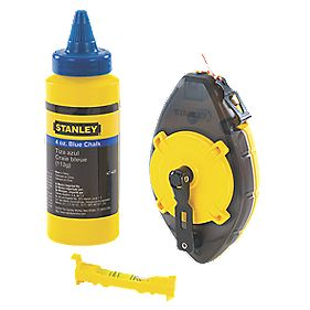 Stanley Power Winder Chalk Line Set 30m
