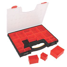 Forge Steel 20-Compartment Organiser