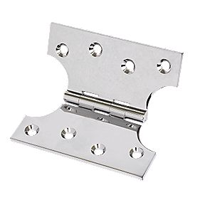 Parliament Hinge Polished Chrome 102 x 102mm Pack of 2