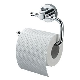 Aqualux Haceka Kosmos Toilet Roll Holder Chrome